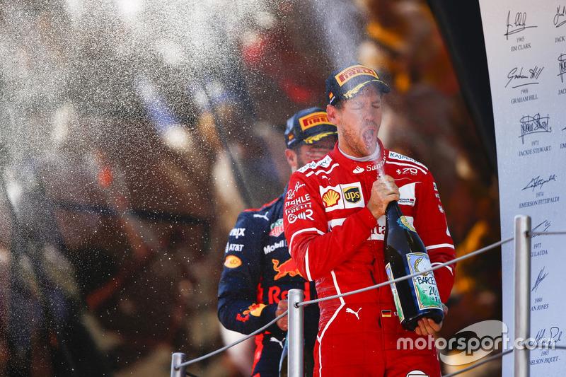 Подіум: друге місце - Себастьян Феттель, Ferrari