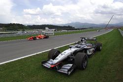 The car of Kimi Raikkonen, McLaren Mercedes MP4/17