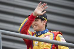 Le vainqueur Giuliano Alesi, Trident