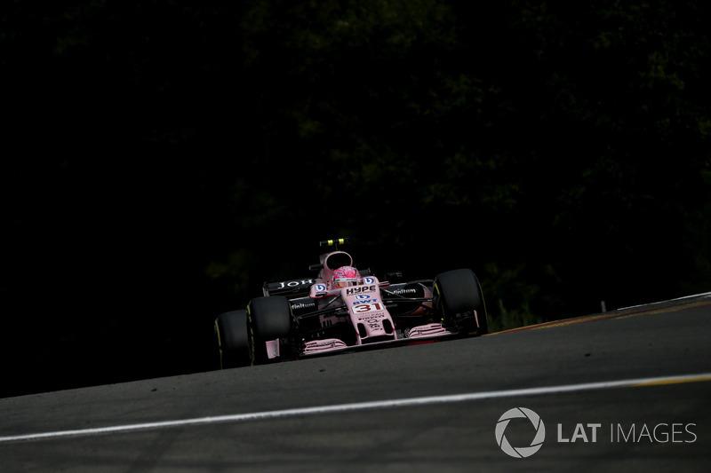 8. Естебан Окон, Force India — 47