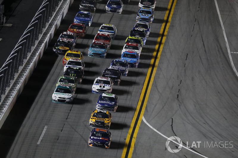 Denny Hamlin, Joe Gibbs Racing Toyota Matt Kenseth, Joe Gibbs Racing Toyota