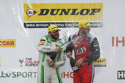 Rob Austin, Handy Motorsport Toyota Avensis and Jack Goff, Eurotech Racing Honda Civic Type R