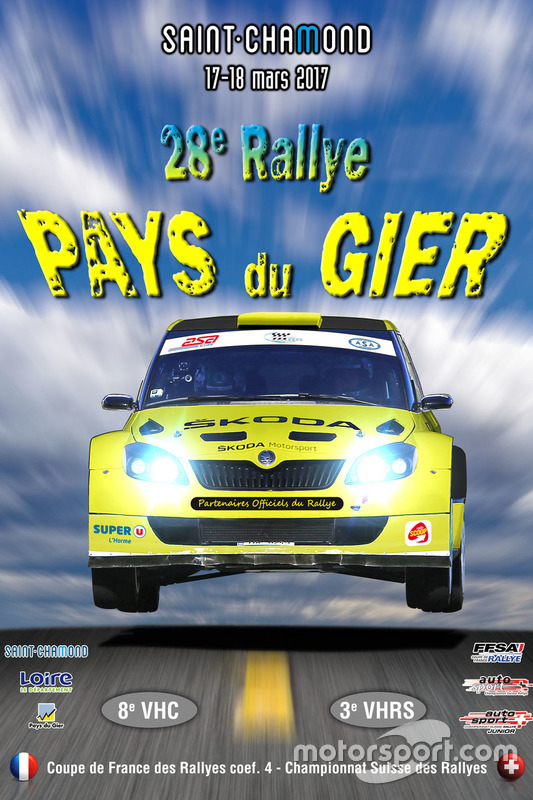Rallye Pays du Gier,  theaterplakat 2017