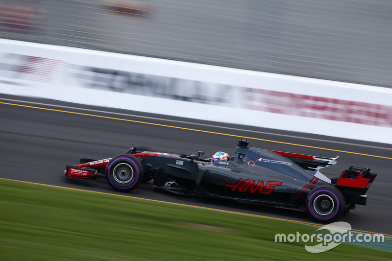 Romain Grosjean, Haas F1 Team, VF-17