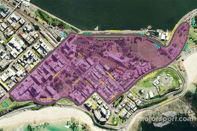 Newcastle circuit onthulling