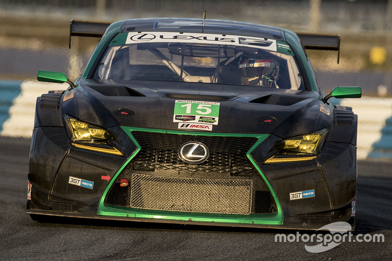 #15 3GT Racing Lexus RCF GT3: Scott Pruett, Sage Karam, Jack Hawksworth, Robert Alon