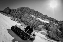 Venturi Antarctica Test auf Schnee