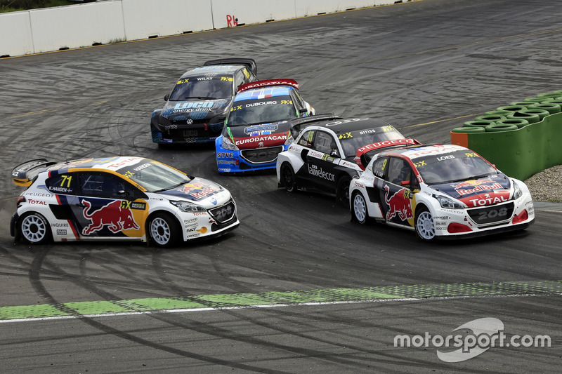 Sebastien Loeb, Team Peugeot-Hansen, Peugeot 208 WRX, Kevin Hansen, Team Peugeot-Hansen Academy, Peugeot 208 WRX