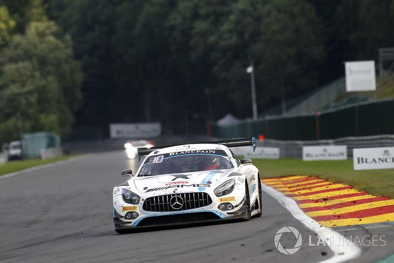 8. #4 Black Falcon, Mercedes-AMG GT3