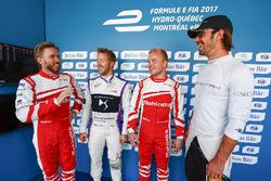 Nick Heidfeld, Mahindra Racing, Sam Bird, DS Virgin Racing, Felix Rosenqvist, Mahindra Racing, Jean-Eric Vergne, Techeetah