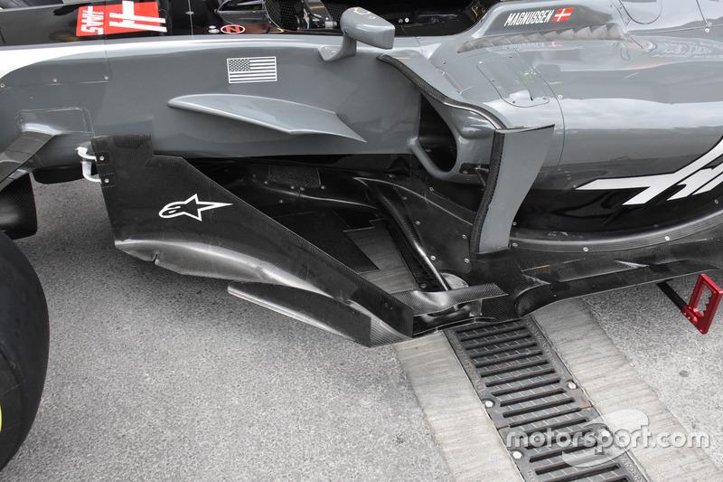 Детали центральной части Haas VF-17