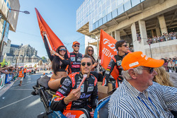 Roman Rusinov, Pierre Thiriet, Alex Lynn, G-Drive Racing