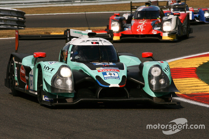 #23 Panis Barthez Competition, Ligier JS P2-Nissan: Fabien Barthez, Timothe Buret, Paul Loup Chatin