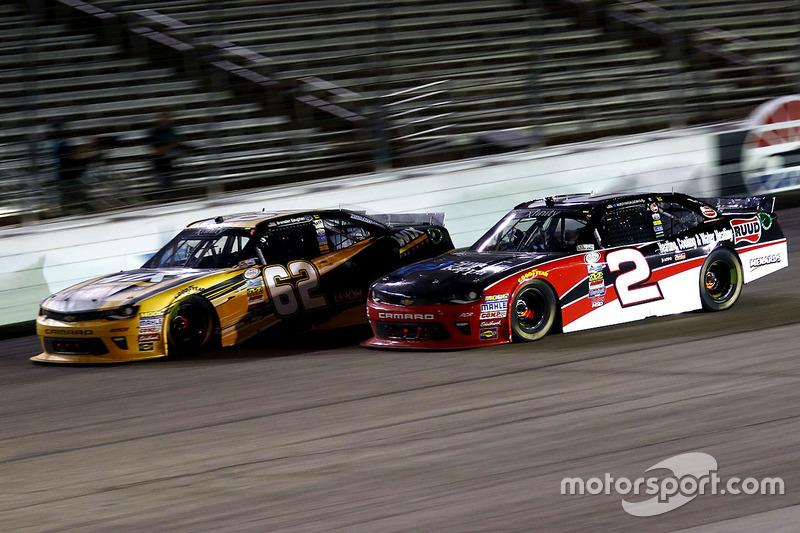 Brendan Gaughan, Richard Childress Racing Chevrolet and Austin Dillon, Richard Childress Racing Chevrolet
