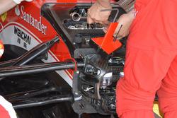 Ferrari SF16-H: si cambia la barra antirollio a Raikkonen