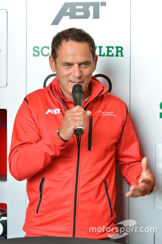 Jurgen Abt, head of ABT Schaeffler Audi Sport