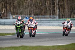Michael van der Mark, Honda WSBK Team y Jonathan Rea, Kawasaki Racing Team