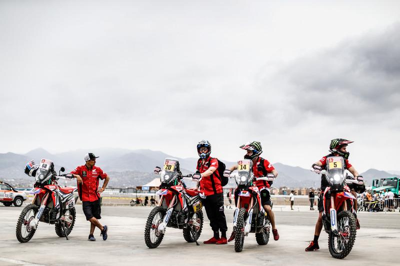 Preparación de motos