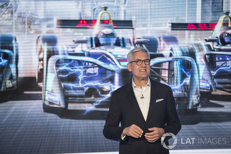 Ulrich Spiesshofer, CEO of ABB announces the first-ever title sponsorship