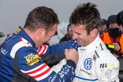 Winner #94 Romain Dumas, Volkswagen I.D. R Pikes Peak, Simone Faggioli