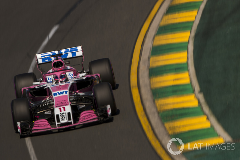 12. Sergio Perez, Force India VJM11