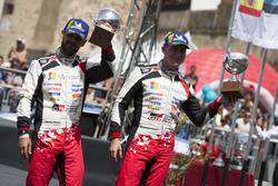 Podio: tercer lugar Esapekka Lappi, Janne Ferm, Toyota Gazoo Racing WRT Toyota Yaris WRC