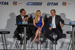 Alexander Rösner, Andrea Kaiser, Gerhard Berger, ITR Chairman
