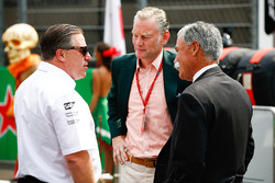 Zak Brown, McLaren Technology Group, Sean Bratches,  Chase Carey