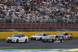 Aric Almirola, Stewart-Haas Racing, Ford Fusion Smithfield/Waffle House Toyota Pace Car