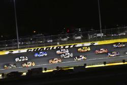 Martin Truex Jr., Furniture Row Racing, Toyota Camry 5-hour ENERGY/Bass Pro Shops and Brad Keselowski, Team Penske, Ford Fusion Discount Tire