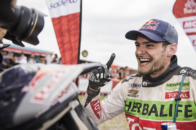 Переможець у категорії квадроциклів Ігнасіо Казале