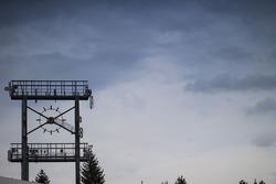 Eski Hockenheim pistindeki saat