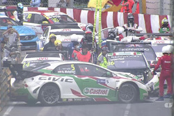 L'incidente nella Opening Race