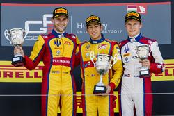 Podium : le vainqueur Giuliano Alesi, Trident, le deuxième Ryan Tveter, Trident, le troisième Kevin Joerg, Trident