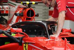 Ferrari SF70H, halo
