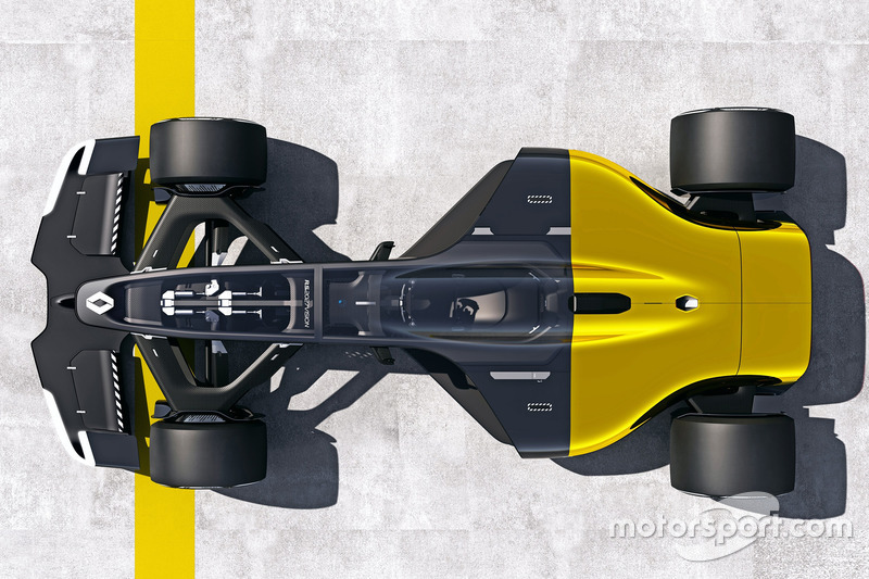 Renault R.S.2027 concept car (ontworpen in 2017)