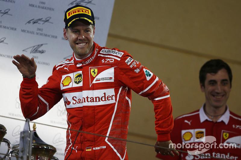 Bahreyn GP - Kazanan: Sebastian Vettel