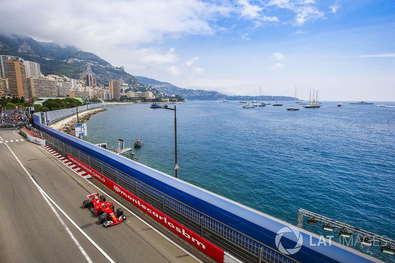 Гран Прі Монако. Себастьян Феттель, Ferrari SF70H