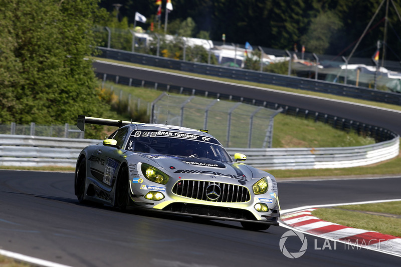 8. #50 Mercedes – AMG Team HTP Motorsport, Mercedes-AMG GT3