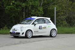 Bruno Riesen, Abarth 500 R3T, Team Rallye Top