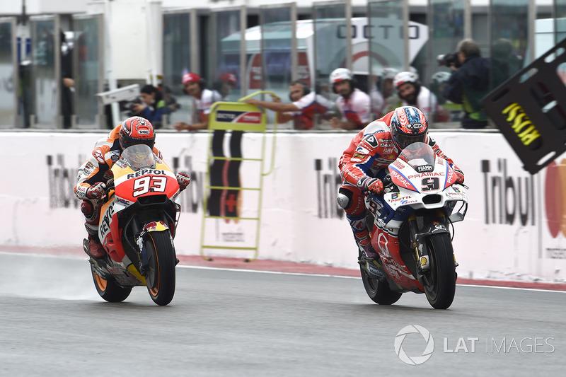 Марк Маркес, Repsol Honda Team, Даніло Петруччі, Pramac Racing