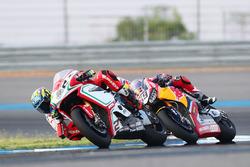 Leon Camier, MV Agusta; Nicky Hayden, Honda World Superbike Team