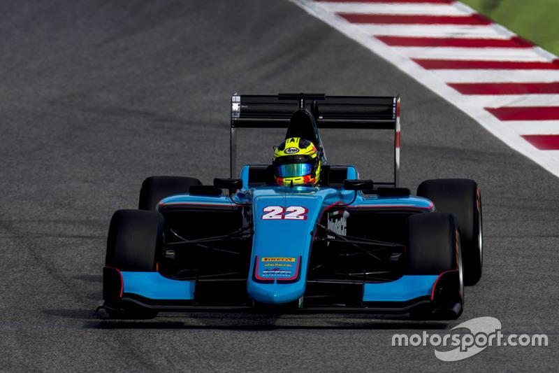20. Алессіо Лоранді – 7-й у GP3, 1 перемога, 4 подіуми