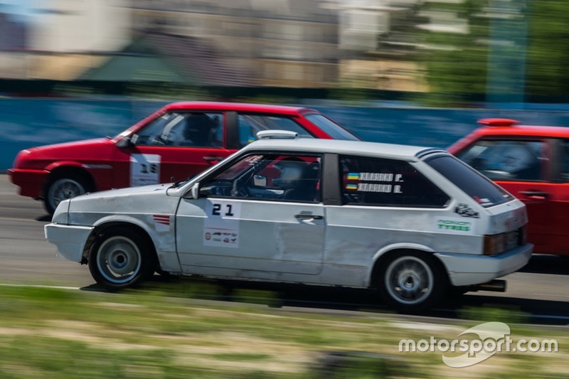Старт гонки 2: Руслан Холявко
