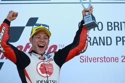 Podio: ganador de la carrera Takaaki Nakagami, Idemitsu Honda equipo Asia