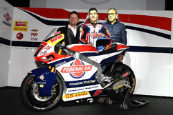 Fausto Gresini, Team Manager Federal Oil Gresini Moto2 and Jorge Navarro, Federal Oil Gresini Moto2 and guests