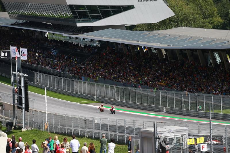 Андреа Довіціозо, Ducati Team, Марк Маркес, Repsol Honda Team