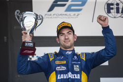 Podyum: Nicholas Latifi, DAMS on the podium