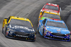Landon Cassill, Front Row Motorsports Ford, Aric Almirola, Richard Petty Motorsports Ford