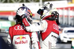 1. Mattias Ekström, Audi Sport Team Abt Sportsline, Audi A5 DTM; 3. Nico Müller, Audi Sport Team Abt